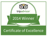 Trip Advisor Award 2014